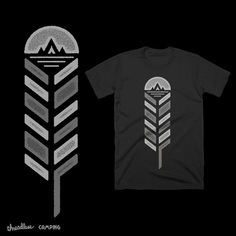 Feather by rhinosserossy on Threadless