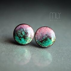 Owocowe 9mm #earrings #jewelry #jewellery