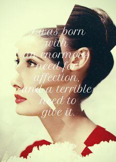 Audrey Hepburn #hepburn #quote #poster #audrey #typography