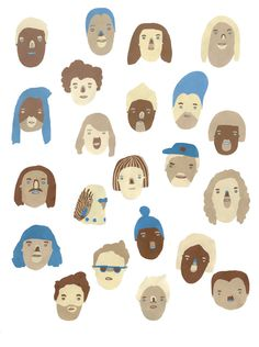Sophie Alda #illustration #faces