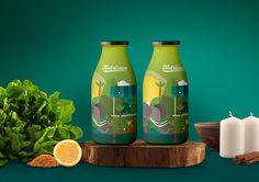Nutricane - Packaging Design on Behance