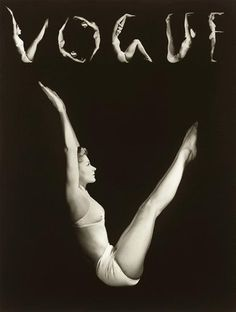 Lisa as V.O.G.U.E. — Horst P. Horst, 1940 #vogue #white #black #photography #vintage #and #fashion