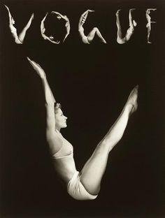 Lisa as V.O.G.U.E. — Horst P. Horst, 1940