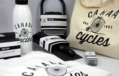 Cahaba Cycles Identity - ashleyrtipton #packaging #rebranding #identity