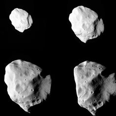 (via Spacecraft captures images of asteroid Al Jazeera English) #creaft #black #space #asteroid #spece #observation