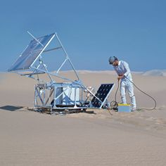 The Solar Sinter by Markus Kayser #print #glass #sand #printer #3d