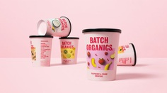 "Ragged Edge reveals ""straight up"" rebrand for Batch Organics 