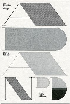 Art DIrection #design #direction #art #and #type #typography
