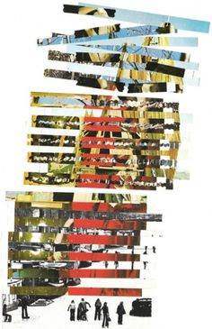 Zad Stretched Canvas by Pefff | Society6 #print #design #collage