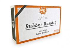Rubber Bandit by Andy Mangold #packaging