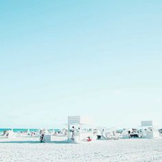 Minimalist and Striking Beach Landscapes by David Behar