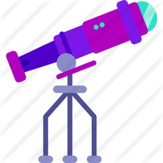 See more icon inspiration related to space, Tools and utensils, miscellaneous, telescope, observation, education, science and nature on Flaticon.