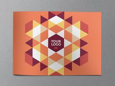 Modern Red Pattern Brochure  You can download it here: http://graphicriver.net/item/modern-red-pattern-brochure/11973823?ref=abradesign #bro