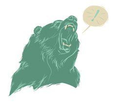 MoscatiVision #pink #kodiak #gig #design #illustration #poster #bear