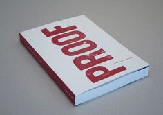 Proof - Mike Hamberg #print #layout #letterpress #typography