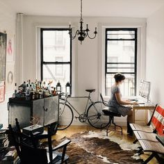 Apartment #interior #apartment #bar