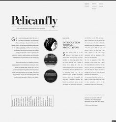 Pelican Fly on Grid Based #typographic #minimal