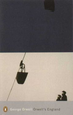 Penguin Books - Orwell's England #covers