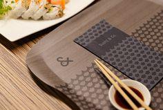 Sushi & Co. by Bond #graphic design #menus #print