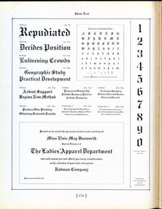 Shaw Text was released by the Inland Type Foundry in 1907. #typography