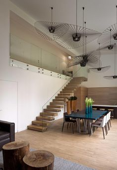 By Using an Optical Illusion This Family House Looks Much Bigger Inside Then It Is