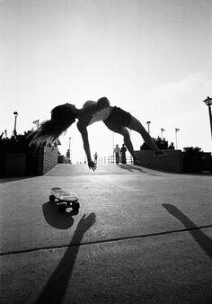 Laurie; Hermosa #70s #skateboarding #california
