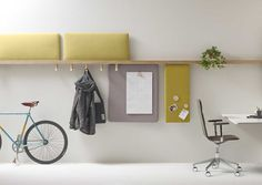 New wall-mounted system from the French studio Alki - HomeWorldDesign (3) (Custom) #furniture #design #french