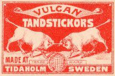 vintage sweden packaging (vulcan)