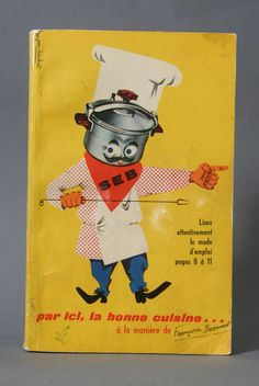 Javier Garcia #cookbook #book #baches #cover #illustration #french #jean #collage