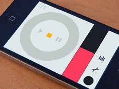 Phlooph #minimal #app #ui design