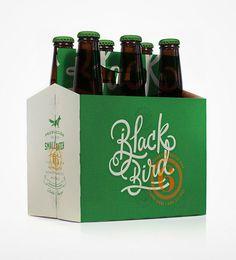 beer, green, blackbird, simplicity