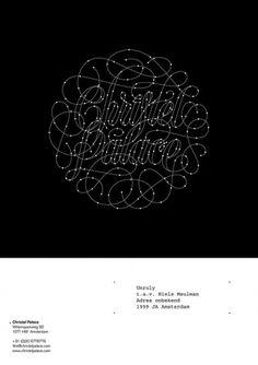 NIELS SHOE MEULMAN — LetterCult #script #custom typography