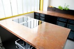 Berlin Studio Kitchen is a minimalist interior located in Berlin, Germany, designed by 45KILO. The Berlin Studio Kitchen is an economic conc
