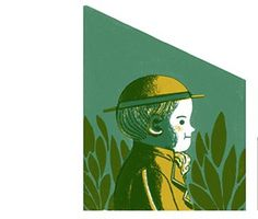 Toast Zine #boy #illustration #green