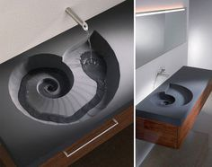 Nautilus Bathroom Sink