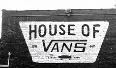 Radcollector - House of Vans Brooklyn #branding #brick #vans #black white
