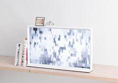 SamsungSerifTV-White