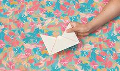 #envelope #pattern #branding #identity #tropical