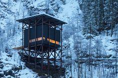 peter zumthor allmannajuvet norway zinc mine project ryfylke designboom #cabin