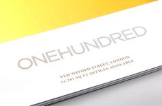 One Hundred New Oxford Street #logo
