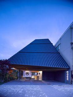 Ryoguchiyakorekiyo Higashiyamaten by Kengo Kuma and Associates