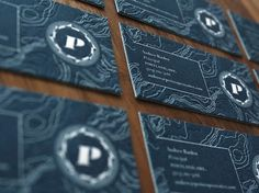 Graphic-ExchanGE - a selection of graphic projects #card #letterpress #identity #business