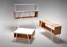 proj. Przemek Ostaszewski, www.przemekostaszewski.com #white #osmo #ostaszewski #design #wood #furniture #przemek #plywood