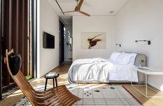 Afeka House Amaze with Corten Steel Shading System - InteriorZine