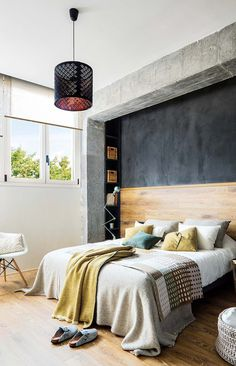 Inspiring Spanish Apartment with Raw Industrial Details 9