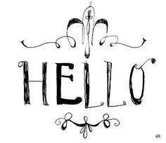 Cìnzyay #cinzyay #ink #cinzia #senocchini #hello #moleskine