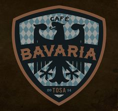 Cafe Bavaria Branding By Rev Pop #up #logo #sports #lock