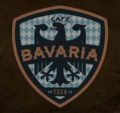 Cafe Bavaria Branding By Rev Pop #up #logo #sports #lock
