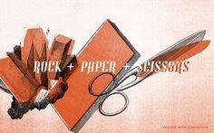 Untitled | Flickr - Photo Sharing! #sissors #rock #design #graphic #illustration #paper