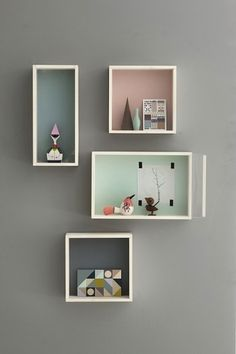 April and May #design #interior #decoration #wall